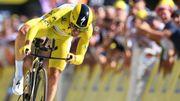 Alaphilippe écrase le chrono du Tour devant Thomas et De Gendt, Van Aert chute et abandonne