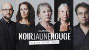 Noir Jaune Rouge Saison 2: Cinq auteurs de littérature belge racontent le true crime à la sauce belge
