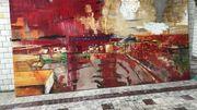Une centaine de toiles de Pierre Debatty sont exposées