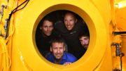 Mer Méditerranée: une plongée d'un mois à 120 m de fond