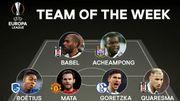 Acheampong et Boëtius dans le onze de la semaine de l'Europa League