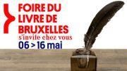 La Foire du Livre de Bruxelles.... de chez vous !  Du 6 au 16 mai