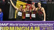 20 finales, 9 médailles, dix ans au sommet pour les Belgian Tornados