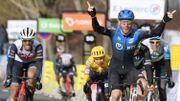 Giacomo Nizzolo se joue des bordures pour s'adjuger la deuxième étape de Paris-Nice