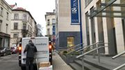 Arrivée des vaccins à la résidence Prince Royal d'Ixelles