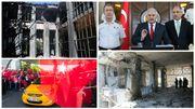 Le Premier ministre (photo) doit maintenant reconstruire le bâtiment de l'assemblée qui a été bombardé et aussi la société turque divisée.