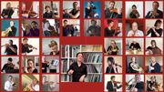 Les musiciens de l'Orchestre Philharmonique Royal de Liège jouent aux apprentis sorciers en confinement