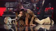 Aerosmith & Shania Twain dans une pub pour Las Vegas