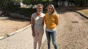 Martine Poelvoorde, responsable administrative, et Virginie Levieux, responsable développement projets, de la Station de plein air Madeleine Melot