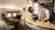 Emirates va transformer le salon-bar de l'Airbus A380 en yacht volant