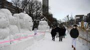 Festival de la neige… sans neige, à Sapporo