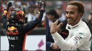 Verstappen s'impose au Mexique, Hamilton décroche son cinquième titre mondial