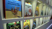 Une vente aux enchères de planches d'Hergé chez Christie's à Paris rapporte 800.000 euros