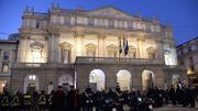 Incidents en marge de l'ouverture de la saison de la Scala de Milan