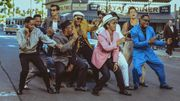 Nouveau mashup qui fait du bien entre 'Uptown Funk' et des scènes de danse dans des films