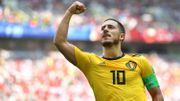 Hazard double buteur face à la Tunisie, en Coupe du Monde