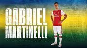 Le Brésilien Martinelli est le premier transfert d'Arsenal cet été