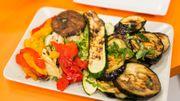 Le barbecue de légumes