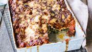 De l'épinard de saison en version lasagne