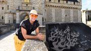 Zevs, l'intello du graff, investit le Château de Vincennes