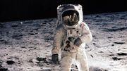 En 1969, deux Américains foulent l'imaginaire lunaire