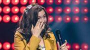 """Mélina vit le """"plus beau jour de sa vie"""" sur la scène de The Voice Kids"""