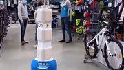 """Unique en Belgique: un robot baptisé """"Tory""""se charge d'inventorier tous les articles"""