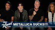 """Metallica lit toutes les mauvaises critiques du """"Black Album"""" dans une vidéo hilarante"""