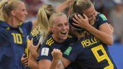 La Suède renverse l'Allemagne et complète le dernier carré du mondial féminin