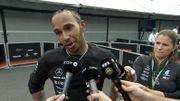 """Un départ """"effrayant"""", un """"cauchemar"""" de gérer ces pneus... Et pourtant, Hamilton a gagné !"""