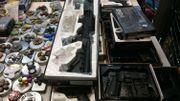 Fusils à bille à la galerie Agora