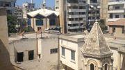 à Lattakié c'est encore l'église Arménienne qui a précédé la mosquée.