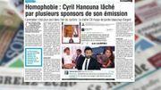 Cyril Hanouna lâché par plusieurs sponsors... c'est dans la revue de presse!