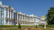 """Le palais """"Catherine"""" de Tsarkoïe Selo"""