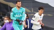 Lloris s'en prend à Son à la mi-temps du match Tottenham - Everton, Mourinho savoure
