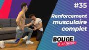 Bouge à la maison: full body pour gagner en tonicité musculaire
