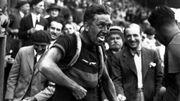 Jean Aerts en 1933, sur le Tour de France