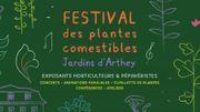 Des entrées pour le Festival des Plantes comestibles les 22 et 23 avril 2017
