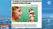 Les Belges à la deuxième place des plus gros mangeurs de glaces d'Europe !