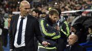 Ovation pour l'entraîneur Zidane pour sa première à Bernabeu