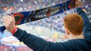 La joie des fans du FC Bruges