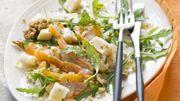 Recette: Salade de reblochon et haddock