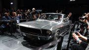 "La Mustang conduite par Steve McQueen dans ""Bullitt"" vendue 3,7 millions de dollars"