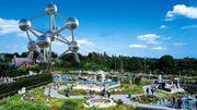 La balade de Carine : L'Atomium plus grand qu'avant !