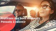 """""""Profitons des bons moments, pensons à ralentir"""": la Police de la route de la province de Luxembourg nous donne de précieux conseils"""