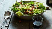 Recette de Candice: Salade de poires aux chicons et au lard