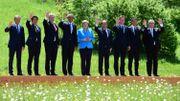 Donald Tusk et Jean-Claude Juncker étaient également de cette photo.