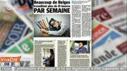 Beaucoup de Belges travaillent plus de 41 heures par semaine