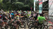 Succès de foule pour le premier BXL Tour avec 3000 cyclistes sur la ligne de départ
