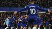 Avec deux assists de Hazard, Chelsea piège City et le fait tomber de son trône